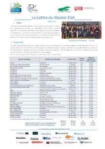 Page 1 Master_ESA_Lettre_2016
